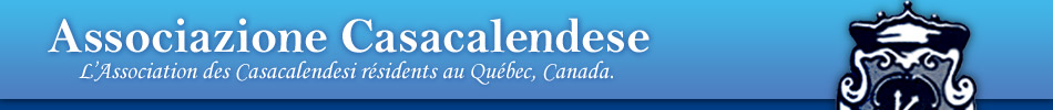 Associazione Casacalendese di Montreal